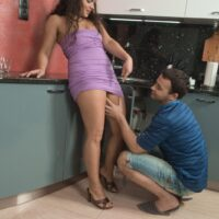 Big-chested amateur Ericka Fly takes a XXX doggy screwing of her wooly vagina