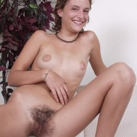 Amateur chicks take turn touting their all-natural vags during solo activity