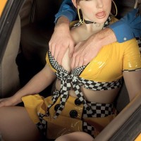 Gigantic jugged MILF XXX starlet Christy Marks jacking and munching hefty cock in uniform