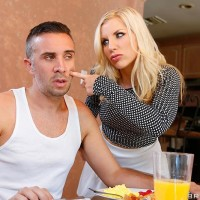 Platinum-blonde MILF XXX video star Ashley Fires taking tough anal sex after providing enormous penis ORAL PLEASURE