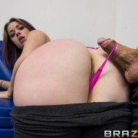 Nice MILF X-rated star Sierra Sanders having gigantic ass freed for ass banging from monster-sized hard-on