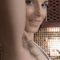 Euro first timer revealing petite knockers and wooly slit and upskirt panty flashing