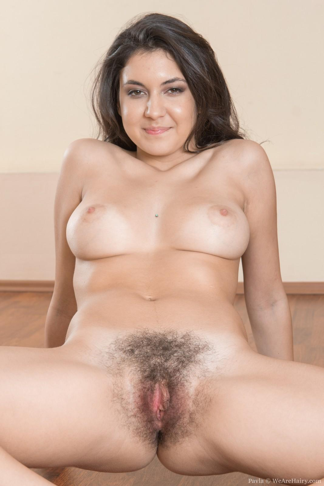 Limber brown-haired first-timer with hefty all natural fun bags whipping out furry slit under yoga pants