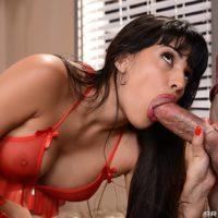 Latina MILF XXX adult starlet Mercedes Carrera plows a younger boy for money